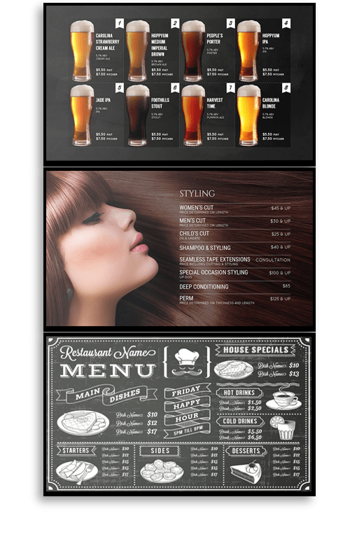 Mood Digital Menu Boards