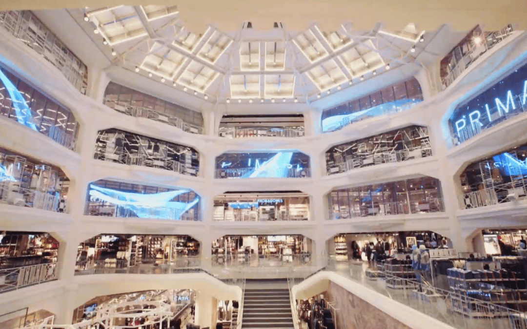 Mood Media's Technomedia Creates Dazzling Audio-Visual for Primark's Madrid Flagship Store