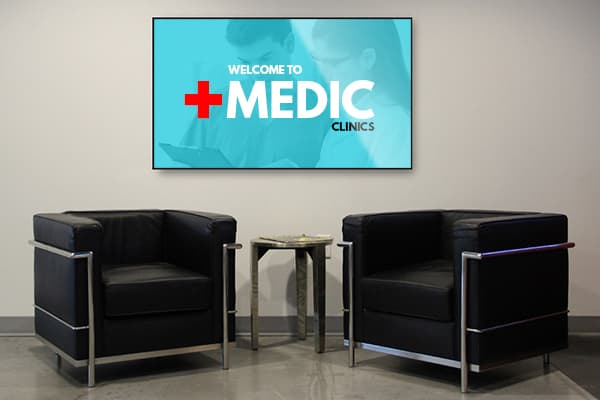 Mood Healthcare Digital Signage