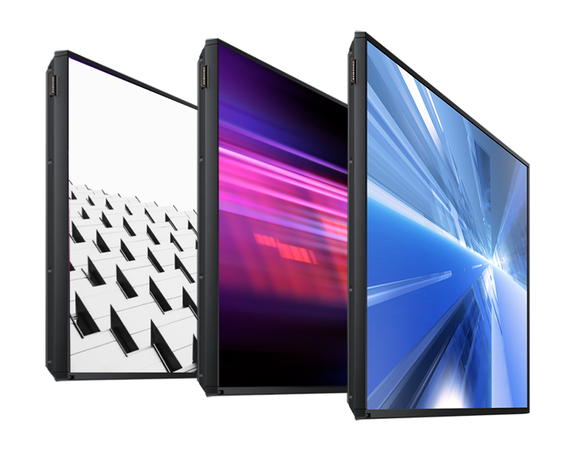 Commercial Grade Screen Array - 3 Screens